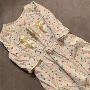 GAP polka dot outfit 0-3 months